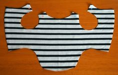 Tutorial: how to make a dog clothes by Rina on Vivat Veritas Blog #vivatveritas…