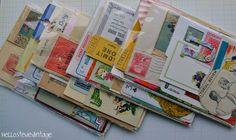 Paper Ephemera Kit / Retro Idea Kit / Scrap by HelloStevieVintage, $4.00