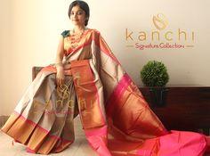 Kanchipuram saree by kanchi signature collection To place an order- WhatsApp us at : 09880859041 Email - kanchi.signature@gmail.com #kanchipuram #kanjeevaram #makeinindia #traditional #saree #indianfashion #southindianbride #kanchisaree #kanchisignaturecollection #elegant #wedding #timeless #classic #handwoven #textileofindia #purezari #indianweaves #kanchi #grey #greysaree #golden #purezari #onlineshopping #wedding #madeinindia #keralabrides
