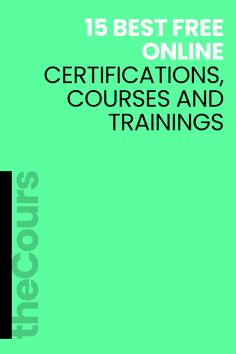 There are numerous free certifications online that you can get completely free of charge. Free College Courses Online, Free Courses, Online Websites, Free Classes Online, Online College, Free Online Writing Courses, Learn Online, Online Games, Online Courses With Certificates