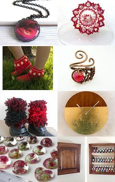 RED HOT DEALS by 1 AGAPE Team Wirednstrung on Etsy--Pinned with TreasuryPin.com