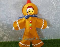 Elf Compatible Costume- Gingerbread Man