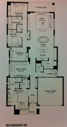 Mcdonald jones homes cordova one collection floorplan for Home designs masterton