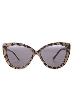 Cat-eye leopard sunglasses: both chic and cool; $32