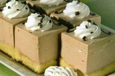 Kremasti kolačići s lješnjakom - Recepti za kolače Croatian Recipes, Hungarian Recipes, Mousse, Cream Cake, Vanilla Cake, Caramel, Pudding, Biscuit, Sweets