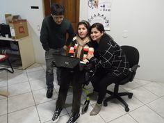 Dr.Gilson Lima, eu e Juliana Terapeuta Ocupacional da Rea Team