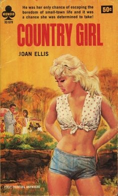COUNTRY GIRL | vintage pulp cover art