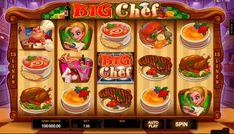 Big Chef on Ilmainen Microgaming kolikkopeli netissä, missä on mahdolisuus voitta suuri voitto jokaisille pelajalle! Kun aloitat pelata tämän jolikkopeli, sinulle avaa valtava grafiikka ja erittäin hyvät bonuspelit. Pelissa on 5 rullat ja 15 voittolinjat.