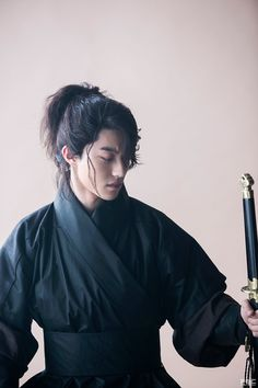 "#KwakDongYeon as the Crown Prince's bodyguard Byung Yeon in ""Moonlight Drawn By Clouds"" or ""Love in the Moonlight"" #favoritecharacter"