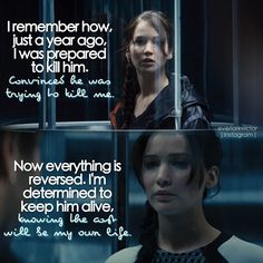 The Hunger Games taught me to stay strong and brave in any particular circumstancesit's just an inspiration of mine
