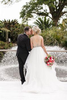 Wedding bouquet featuring coral peonieshttp://www.mondofloraldesigns.com.au/maleny-manor-style-katie-reece/