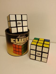 2 Boxed Official Vintage 1980 / 1981 / Hungarian Magic / Rubik's Cube | eBay