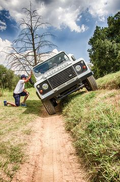 Dell and the 4x4 Landrover experience