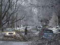 Toronto ice storm 2013: Photos from the GTA's winter nightmare | National Post