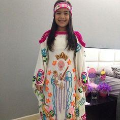 ARTE INDÍGENA AIKA Kimono Top, Dress Up, Sari, Folklore, Women, Fashion, Aztec Outfit, Mexican Fashion, Ethnic Dress