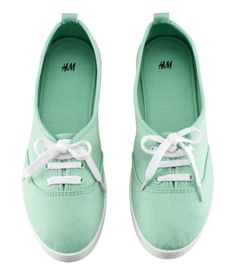 Mint Green Sneakers-H//