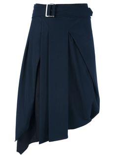 I-MALLONI Pleated Midi Skirt