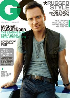 Michael Fassbender looks as handsome as ever on the November issue of GQ.