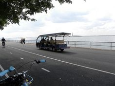 Governors Island bike trails in #NYC