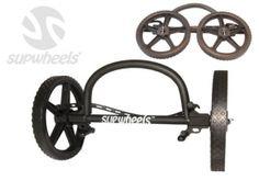 SUP Wheels® sistema de transporte de tablas de SUP