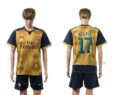 http://www.xjersey.com/201516-arsenal-17-alexis-away-uefa-champions-league-soccer-jersey.html Only$35.00 2015-16 ARSENAL 17 ALEXIS AWAY UEFA CHAMPIONS LEAGUE SOCCER JERSEY Free Shipping!