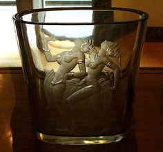 1938 Art Deco Intaglio Engraved Glass Vase Royal Ontario Museum (ROM) .... Toronto, Ontario | by Greg's Southern Ontario (catching Up Slowly)