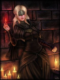Dark Souls - Crossbreed by on DeviantArt Dark Souls Characters, Fantasy Characters, Female Characters, Dark Souls 3, Dark Fantasy Art, Fantasy Girl, Dark Souls Fire Keeper, Rpg Wallpaper, Soul Saga