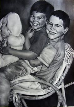 Portrait pencil drawing - commission