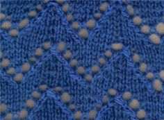 Lace Knitting Stitch #87