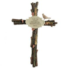 twig cross   True Faith Twig Cross - Words Of Art   Gifts and Holiday Ideas   Pint ...