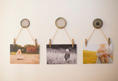 3 Ridiculously Pretty Ways to Display Family Photos Amy Lockheart, product editor at Clickin Moms, shares three brilliant ways to show off family photos.