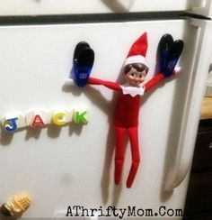 Elf on the Shelf easy ideas, What to do with your Elf, Silly Ideas for your Christmas Elf on the Shelf day 10 .jpf