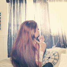 Hair - girl - me - morning - happy