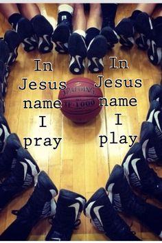 In Jesus name I pray~in Jesus name I play