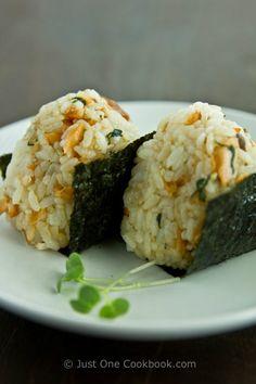 Broiled Salmon | Salmon Onigiri |Japanese Recipes at Just One Cookbook