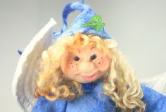 Introducing Nigela the tooth fairy- felt doll- made by irish felt fairy by IrishFeltFairy on Etsy