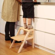 Oji masanori design - It functions as a chair for a child as well as a step