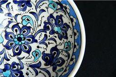 interior pattern on turkish bowl
