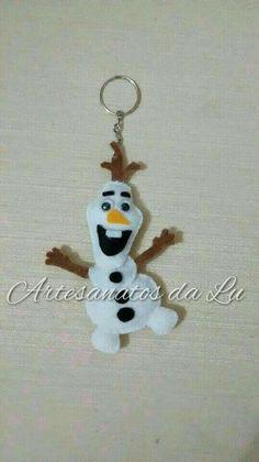 Chaveiro Olaf