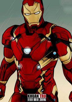 Iron Man Civil War by KHUANTRU on DeviantArt