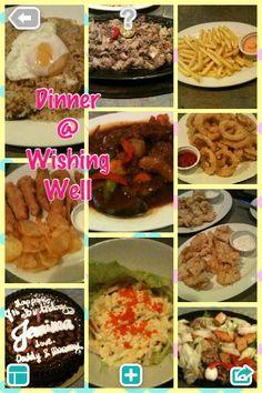 Dinnertime @Wishing Well
