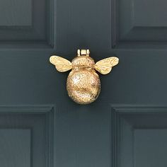 Suitable for wooden, PVCu and composite doors, our Solid Brass Bumble Bee door knocker would look at home on the door of a cottage, town house or modern home. Free UK delivery included on this product and international delivery available! Pvcu Doors, Entry Doors, Entrance, Entryway, Industrial Interior Design, Vintage Industrial Decor, Vintage Decor, Black Front Doors, Front Door Colors