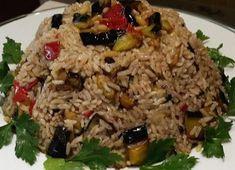 Vegan Vegetarian, Vegetarian Recipes, Greek Recipes, Fried Rice, Grains, Sweet Home, Food And Drink, Cooking, Health