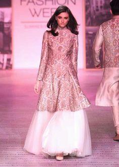 Looks Which Are Aww Adorable - AwesomeLifestyleFashion Black Lehenga Like Alia Black Lehenga would be super glamorous and . Lakme Fashion Week, India Fashion, Girl Fashion, Indian Attire, Indian Wear, Pakistani Outfits, Indian Outfits, Kurta Designs, Blouse Designs