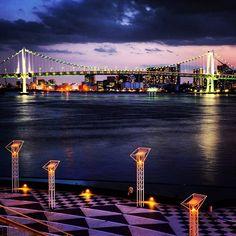 Rainbow bridge, Tokyo / レインボーブリッジ  Japan