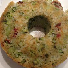 Armonia di Mandorle: Sformato di riso e broccoli - Rice and broccoli flan