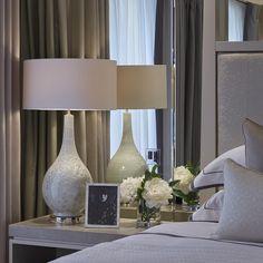Cheap Home Decor Laura Hammett Ltd charisma design Art Deco Bedroom, Master Bedroom Design, Bedroom Decor, Interior Styling, Interior Design, Modern Interior, Modern Rustic Homes, Interior Exterior, Luxurious Bedrooms