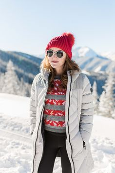 Styling a cute winter outfit - perfect for on or off the slopes | Kylen Every Wear