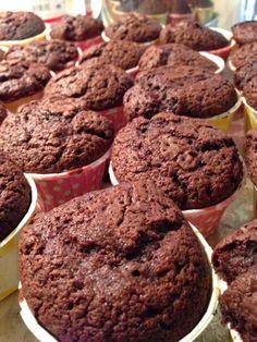 Baking's Corner: Regina Nutella Muffins - By Regina Jawad Baig