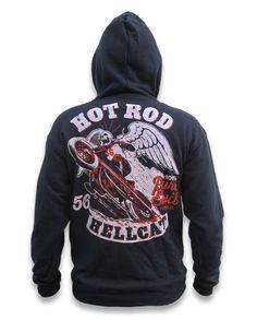 Hotrod Hellcat PURE EVIL Herren Kapuzenpullover/Hoodies